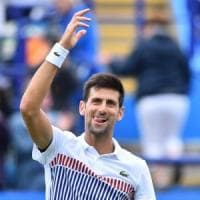 Tennis, Eastbourne: Djokovic avanza. Seppi in semifinale in Turchia