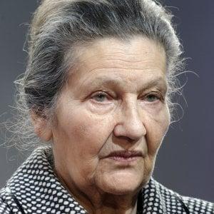 morta simone veil sopravvissuta alla shoah fu prima presidentessa del parlamento europeo. Black Bedroom Furniture Sets. Home Design Ideas