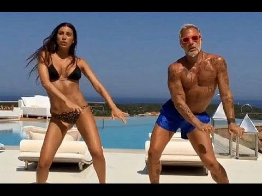 Gianluca Vacchi balla da solo: fine della storia con Giorgia Gabriele