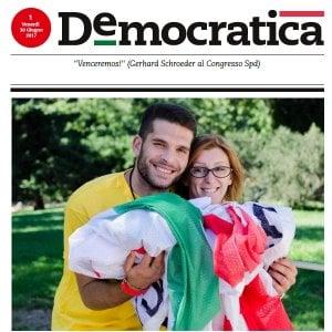 """Unità addio, nasce Democratica, il nuovo giornale del Pd """"multimediale e gratuito"""""""
