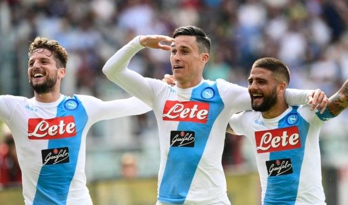 Il gol abita a Napoli