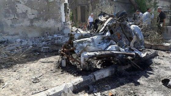 """Siria, tre autobombe a Damasco: """"Ci sono 18 morti"""""""