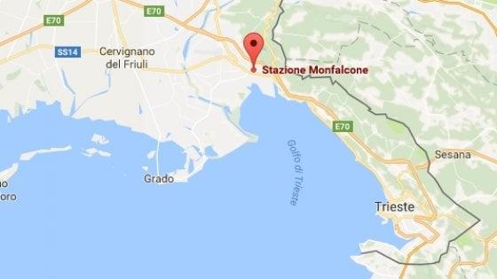 Treno perde gas argon: chiusa la stazione di Monfalcone