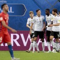 Confederations Cup: trionfa la Germania, punito un Cile sciupone