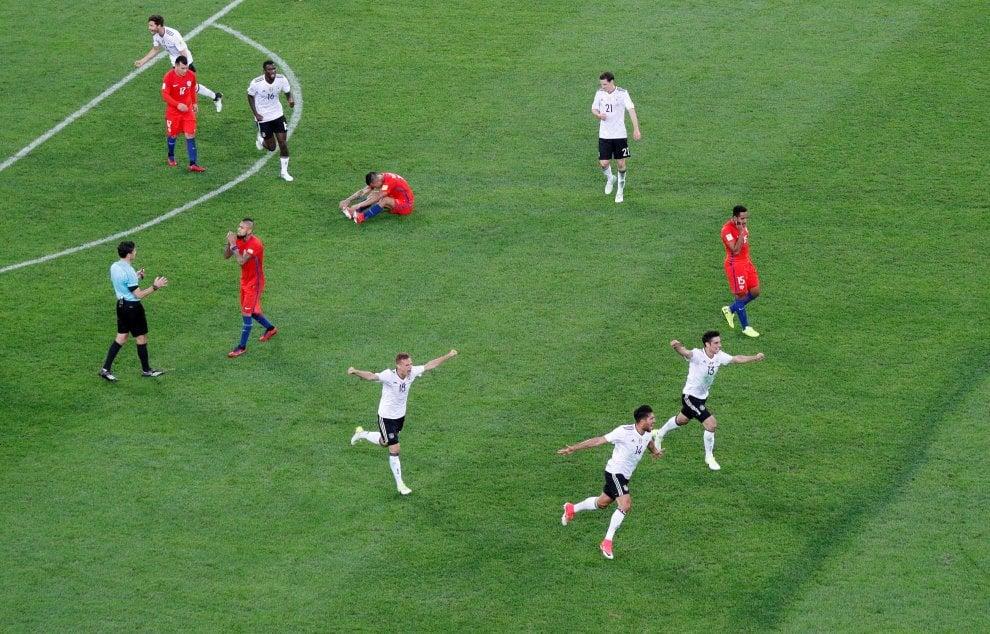Confederations cup alla Germania: il film della finale con il Cile