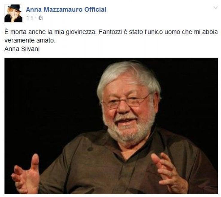 """Addio Paolo Villaggio, il cordoglio sui social: """"Era un genio"""""""