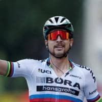 Tour de France, Sagan vince da fuoriclasse. Thomas resta in giallo