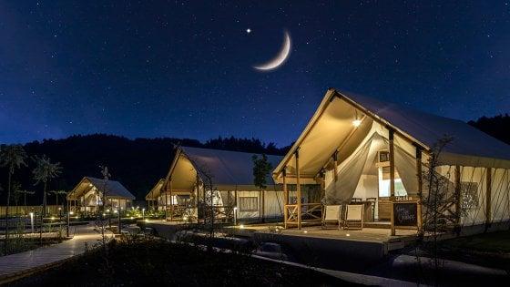 Slovenia: una vacanza in tenda all'insegna del lusso