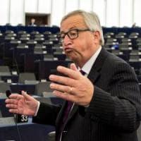 Migranti, Juncker parla al Parlamento Ue semideserto. Austria minaccia blindati