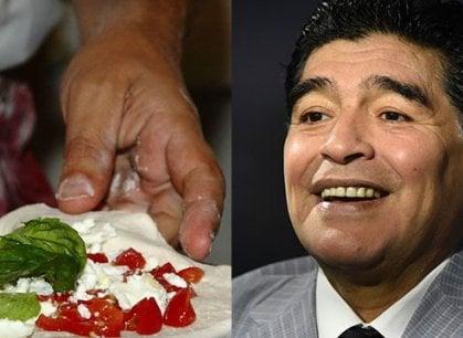 Grande festa a Napoli per Maradona. Per celebrarlo, margherita e pizza fritta