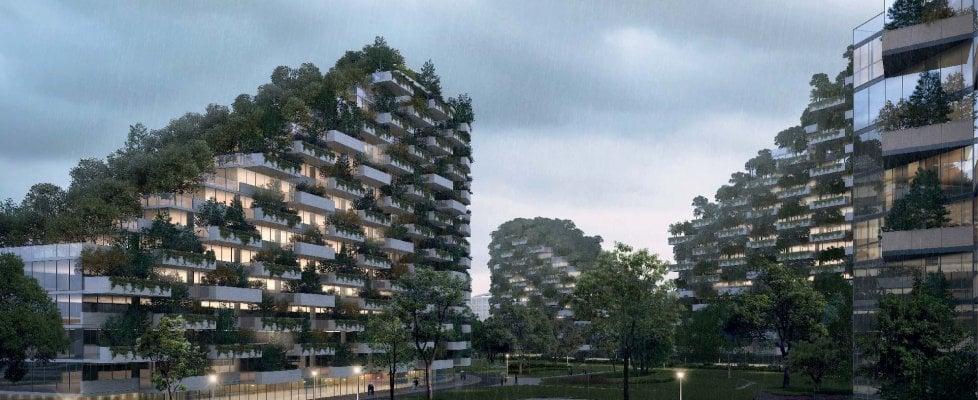 Liuzhou Forest City, in Cina sorgerà la prima città-foresta anti smog: il progetto italiano