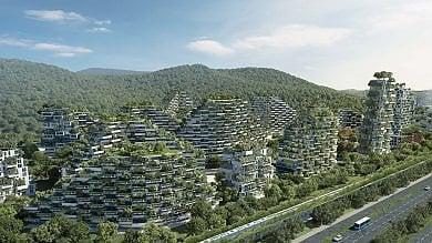 La prima città-foresta anti smog: il progetto italiano   ·foto     ·video