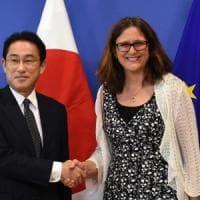 Ue-Giappone, accordo politico sul trattato commerciale