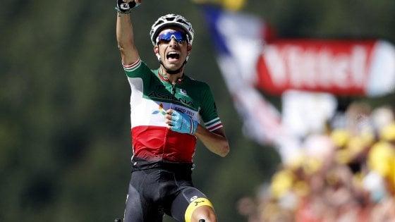 Tour de France, Aru domina la prima salita: Froome nuova maglia gialla