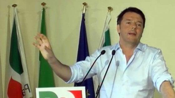 """Renzi: """"Non parlo di alleanze"""". Ed è scontro con Franceschini. A Orlando: """"Vuoi solo aiutare Pisapia"""""""