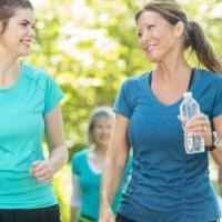 Se parli mentre corri, l'esercizio è moderato. E salvi la salute