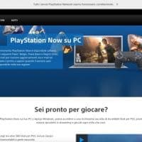 I giochi della PlayStation 4 arrivano su Pc:  videogame in streaming con Ps Now