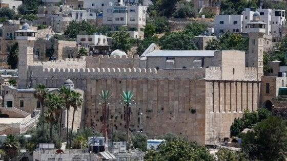 Unesco designa Hebron e la Tomba dei Patriarchi patrimonio dell'umanità
