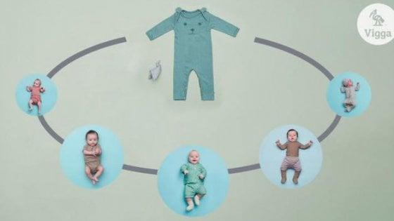 Vigga, la startup che affitta vestiti usati per bambini