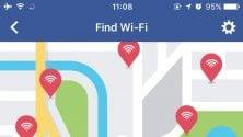 Facebook ti aiuterà a trovare la connessione gratis più vicina
