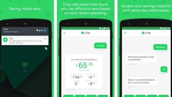Chip, l'app pensata per i millennials: aiuta a risparmiare