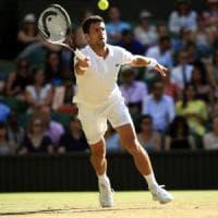 Wimbledon: Djokovic e Federer volano agli ottavi, quanta fatica per la Kerber
