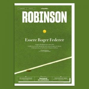Robinson, Baricco racconta Federer: il re del tennis a Wimbledon