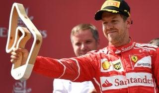 """F1, Gp Austria, Vettel: """"Per vincere mi serviva un altro giro"""""""