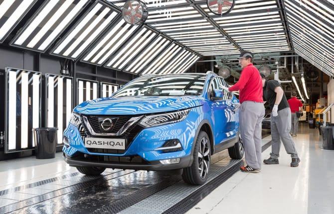 Nissan, non solo Giappone: il Qashqai nasce anche in Europa