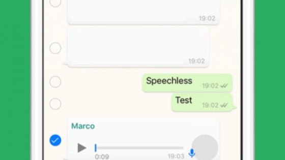 Whatsapp, i messaggi vocali diventano scritti con l'app Speechless
