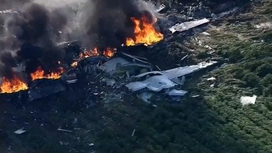 Precipita in Mississippi aereo del Corpo dei marine: 16 morti