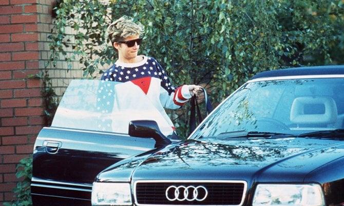 All'asta l'Audi cabriolet di Lady Diana