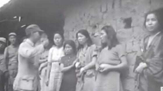 """Schiave del sesso, in 18 secondi la prova video dell'orrore: """"Ecco le comfort women delle truppe giapponesi"""""""