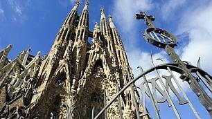 Sagrada Familia, niente steps