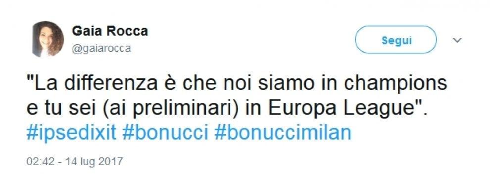 """Bonucci al Milan, tifosi della Juve scatenati: """"Sei passato dalla Champions all'Europa League"""""""