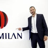 Milan, ufficiale l'arrivo di Bonucci: sarà rossonero fino al 2022