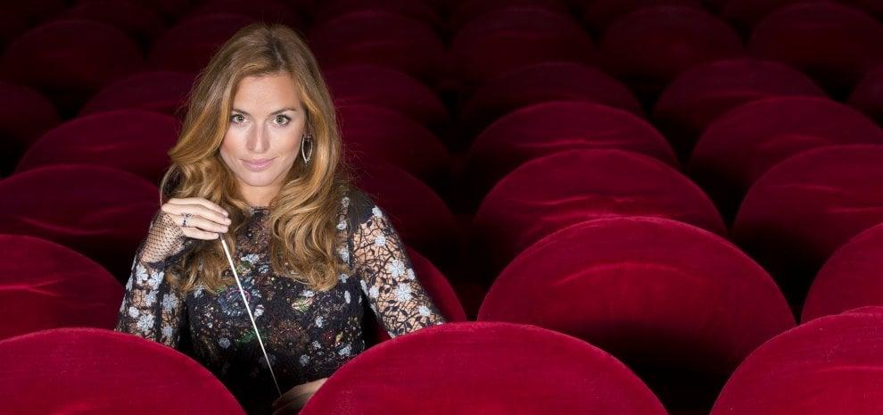 "Beatrice Venezi: ""L'opera è pop ed è un genere per giovani"""