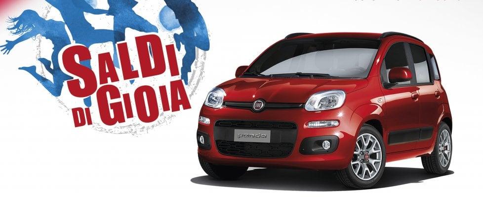"""""""Saldi di gioia"""": fino al 30% di sconto su Lancia e Fiat in pronta consegna"""