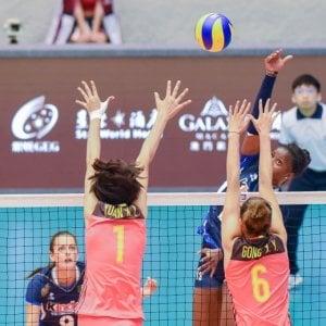 Volley, Grand Prix: l'Italia rialza la testa e piega la Cina