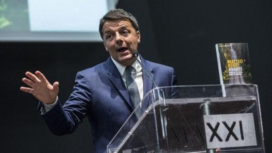 """Conti pubblici, Renzi: """"Quanto fatto nei mille giorni sta dando frutti. Dati meglio previsioni per nostre riforme"""""""