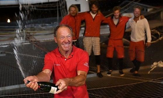 Vela, nella rincorsa dell'Atlantico Coville polverizza l'ultimo record: 4 giorni 11 ore e 10 minuti