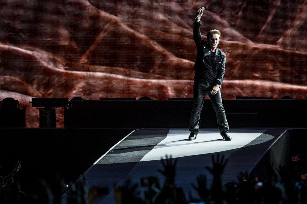 U2 a Roma, il rock accende l'Olimpico