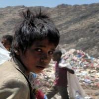Yemen, sette milioni di persone sulla soglia della carestia e 2/3 della