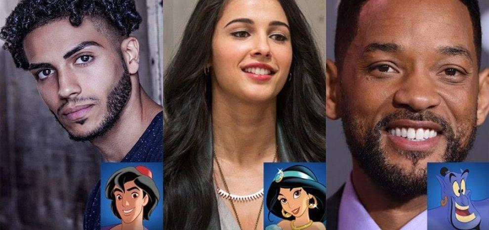 Svelato il cast di 'Aladdin', il genio è Will Smith e sui social scatta il dibattito