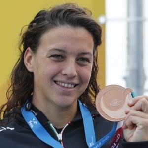 Nuoto, Mondiali: bronzo alla Bridi nella10 km