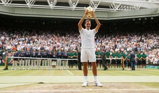 Tennis, Wimbledon: eterno Federer batte Cilic e vince per l'ottava volta