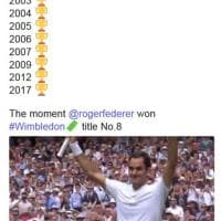 Federer re di Wimbledon, l'omaggio ufficiale su Twitter