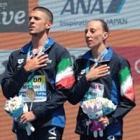 Mondiali nuoto sincronizzato: medaglia con