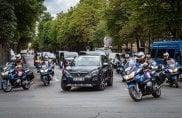 Prima uscita presidenziale per la nuova Peugeot 5008