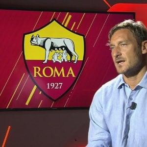 """Roma, Totti: """"La mia nuova vita da dirigente, sarò a disposizione di tutti"""""""